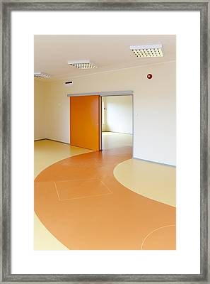 Viimsi Kindergarten In Estonia. A New Framed Print