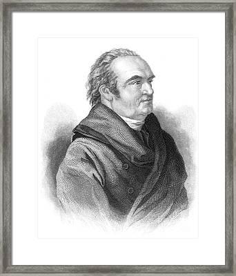 William Herschel, German-british Framed Print by Science Source