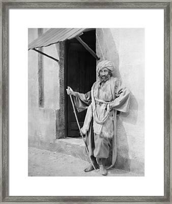 Silent Still: Single Man Framed Print by Granger