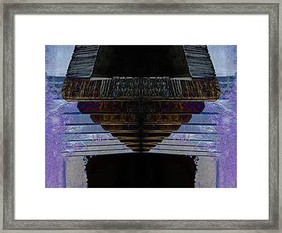 Tunnel Framed Print by Michele Caporaso