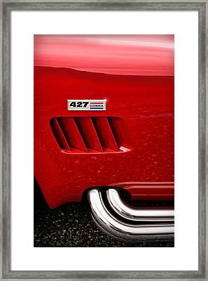 427 Ford Cobra Framed Print by Gordon Dean II