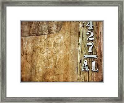 427 Framed Print
