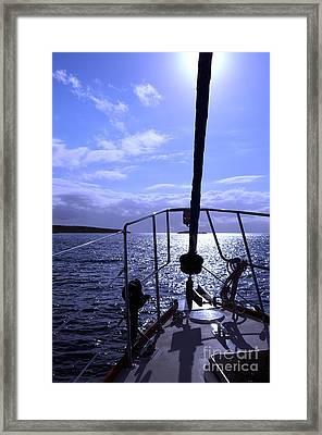 Ocean Tides Series Framed Print
