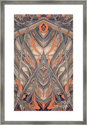 Paint Reflection Framed Print by Odon Czintos
