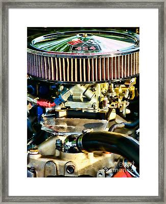 454 Horsepower Framed Print by Colleen Kammerer