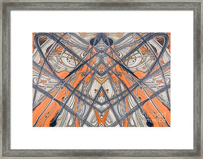 Paint Reflection Framed Print