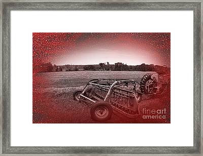 47 Bales Framed Print by The Stone Age
