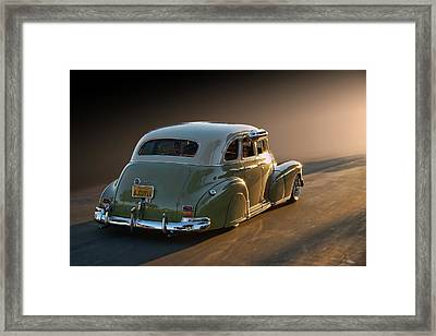 47 Stylemaster Framed Print by Bill Dutting