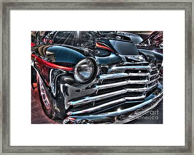 48 Chevy Convertible 2 Framed Print by Anthony Wilkening