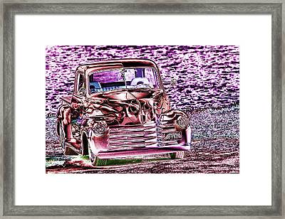 48 Pick Up Framed Print