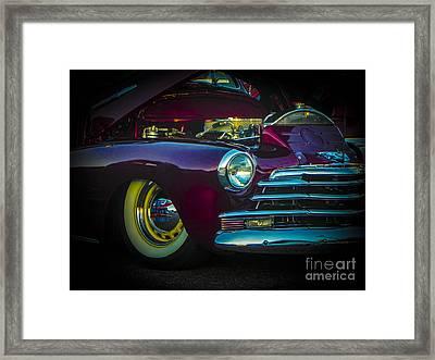 49 Chevy Bad Boy Framed Print by Chuck Re