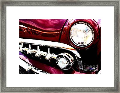 Framed Print featuring the digital art 49 Ford by Tony Cooper