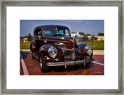 '49 Ford Two Door Sedan Framed Print by Christopher Holmes