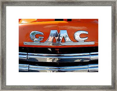 Framed Print featuring the photograph '49 G M C by John Schneider