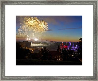 4th Of July Framed Print by Conor McLaughlin