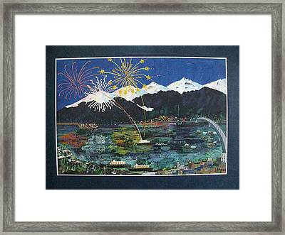 4th Of July In Juneau Alaska Framed Print by Sunny Eccleston