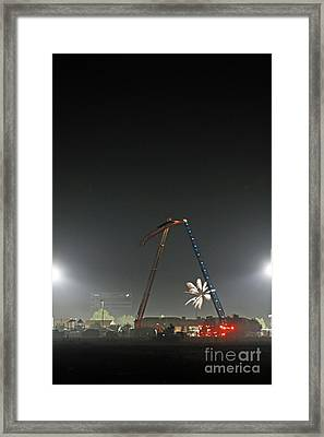 4th Of July Framed Print