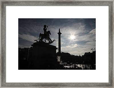 4th Plinth 3 Framed Print by Jez C Self