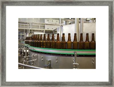 A Brewery And Bottling Plant In Estonia Framed Print by Jaak Nilson