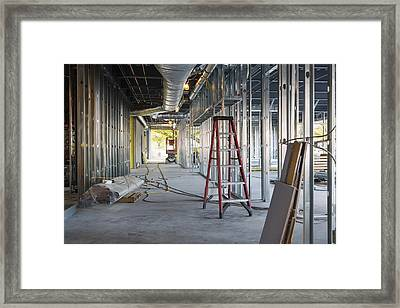 A Commercial Building Framed Print