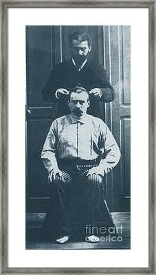 Alphonse Bertillon, French Biometrician Framed Print