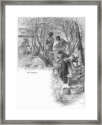 Arkansas: Hot Springs, 1878 Framed Print by Granger