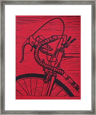 Bike 2 Framed Print