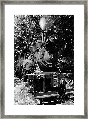 Climax Geared Locomotive Framed Print by Thomas R Fletcher