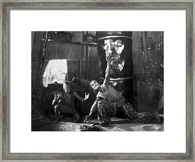 Douglas Fairbanks Framed Print by Granger