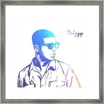 Drizzy  Framed Print