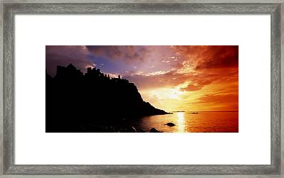 Dunluce Castle, Co Antrim, Ireland Framed Print by The Irish Image Collection