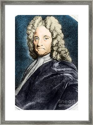 Edmond Halley, English Polymath Framed Print by Science Source
