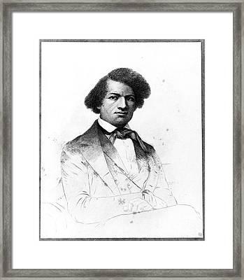 Frederick Douglass, African-american Framed Print