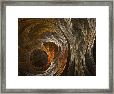 Grass Framed Print by Michele Caporaso