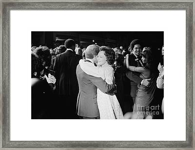 Jimmy Carter (1924- ) Framed Print by Granger