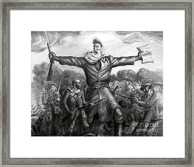 John Brown, American Abolitionist Framed Print