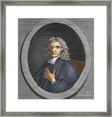 John Flamsteed, English Astronomer Framed Print by Science Source