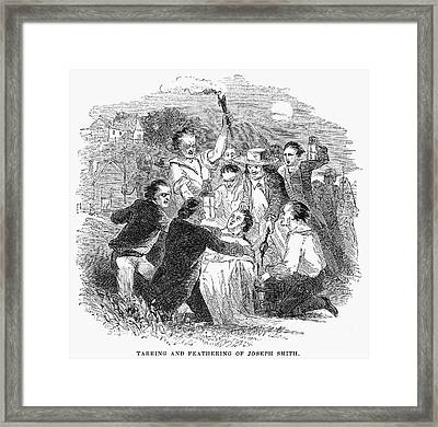 Joseph Smith (1805-1844) Framed Print
