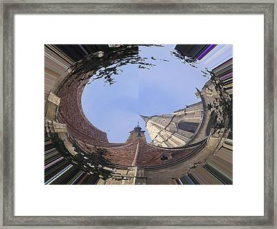 Framed Print featuring the digital art Landscape by Bogdan Floridana Oana