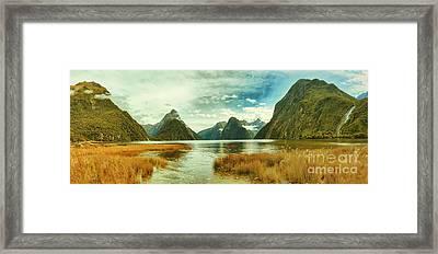 Milford Sound Framed Print by MotHaiBaPhoto Prints