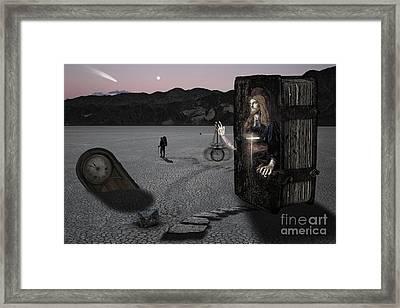 5 Minutes Til Midnight Framed Print