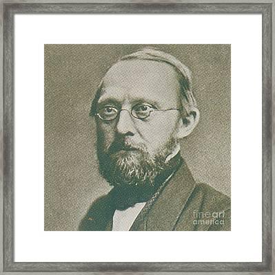 Rudolph Virchow, German Polymath Framed Print