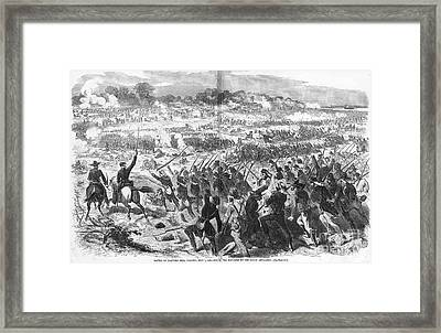 Seven Days Battles, 1862 Framed Print
