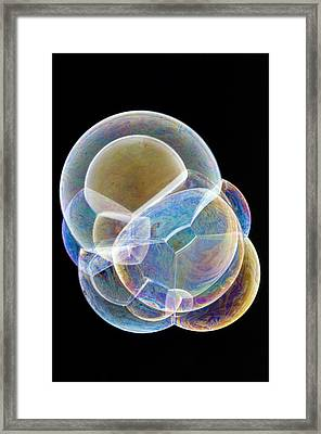Soap Bubbles Framed Print by Lawrence Lawry