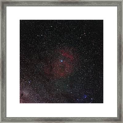 Starfield Framed Print by Eckhard Slawik