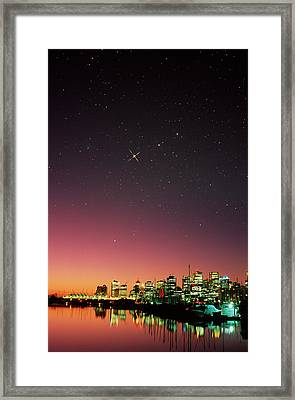 Starry Sky Framed Print by David Nunuk