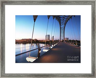 Toronto The Humber River Arch Bridge Framed Print by Oleksiy Maksymenko