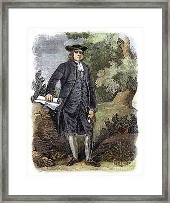 William Penn (1644-1718) Framed Print