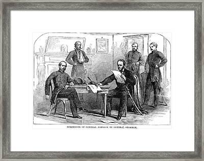 William Tecumseh Sherman Framed Print by Granger