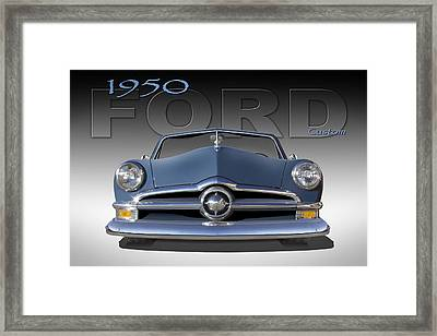 50 Ford Custom Convertible Framed Print by Mike McGlothlen